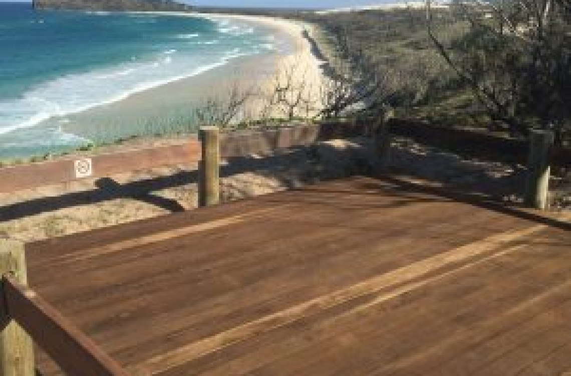 Fraser Island (K'gari) Champange Pools Boardwalk Replacement